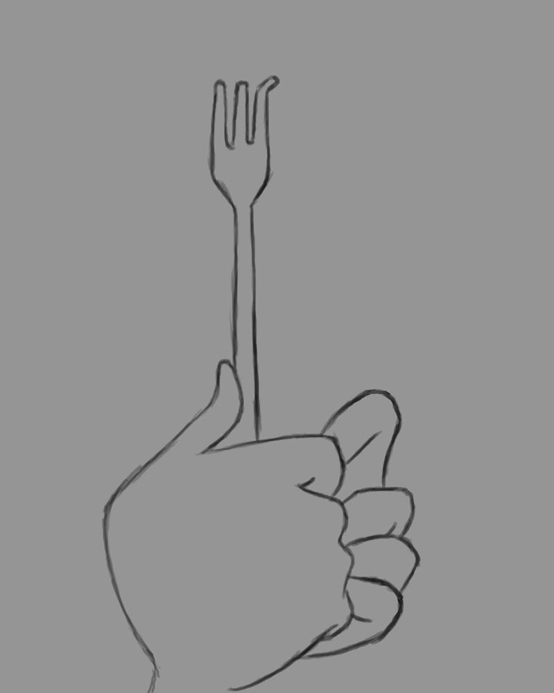 Dinglehopper Daily sketch #569 by GothicVampireFreak
