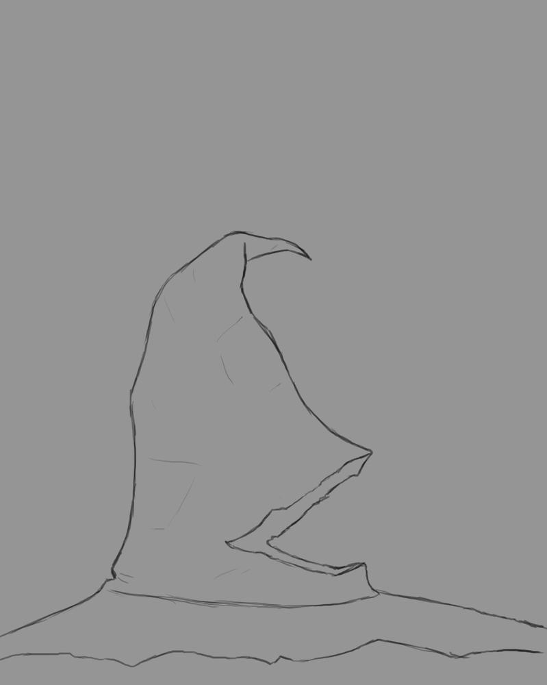 Sorting Hat Daily sketch #573 by GothicVampireFreak