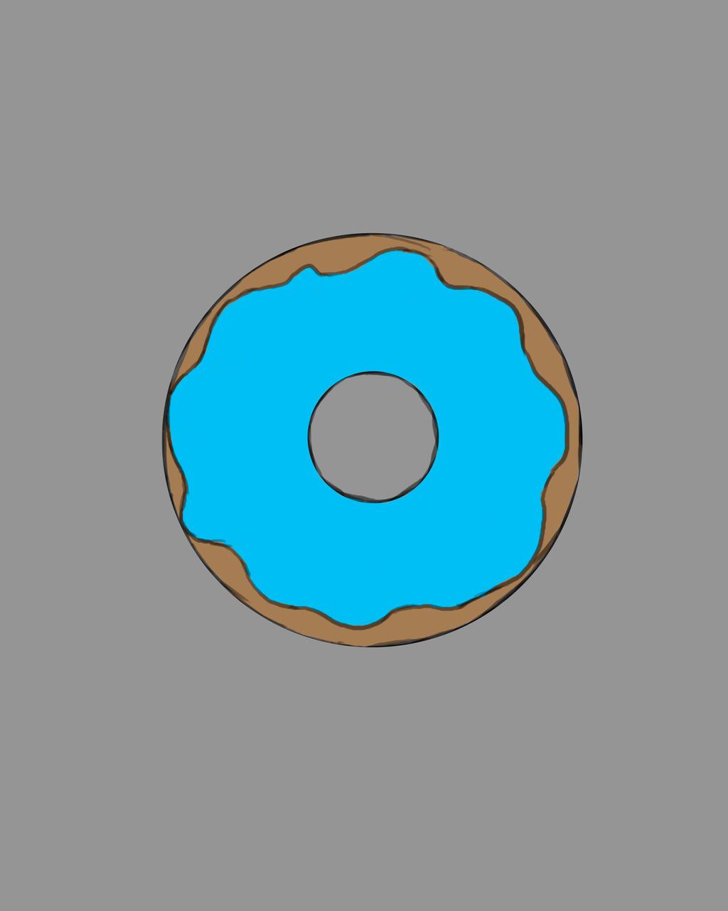Donut Daily sketch #599 by GothicVampireFreak