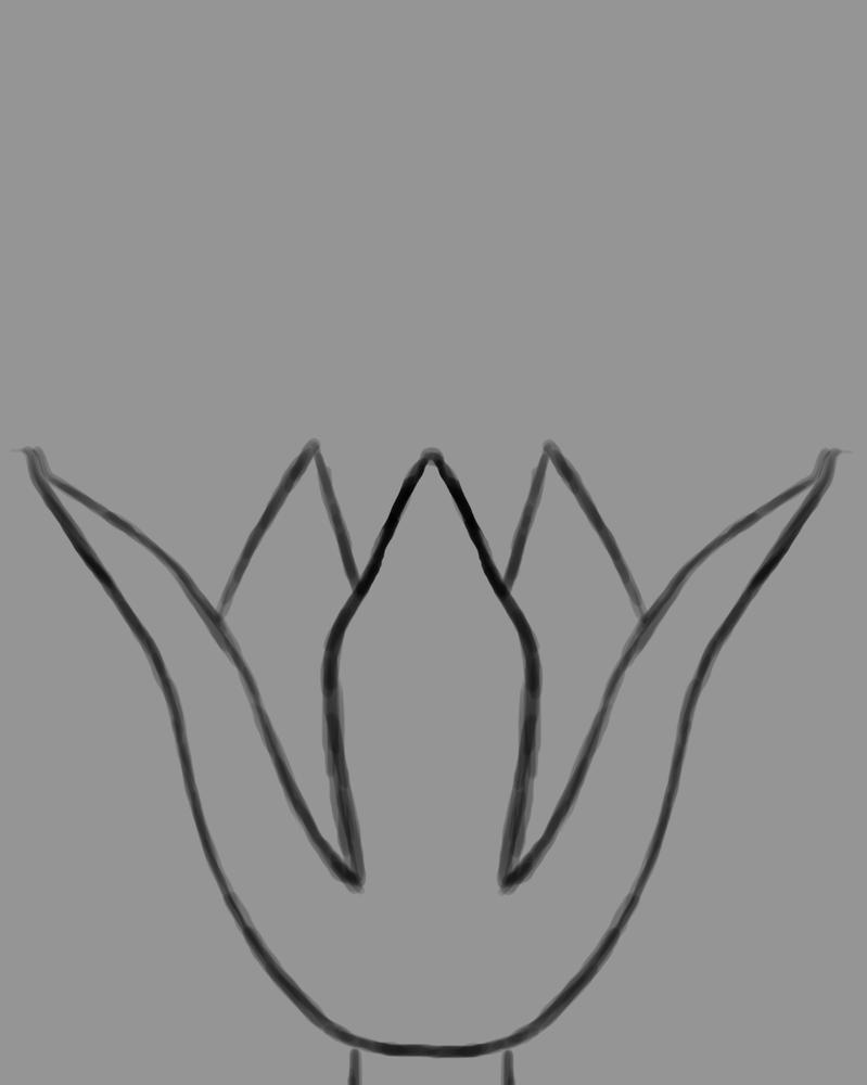 Lotus Daily sketch #623 by GothicVampireFreak
