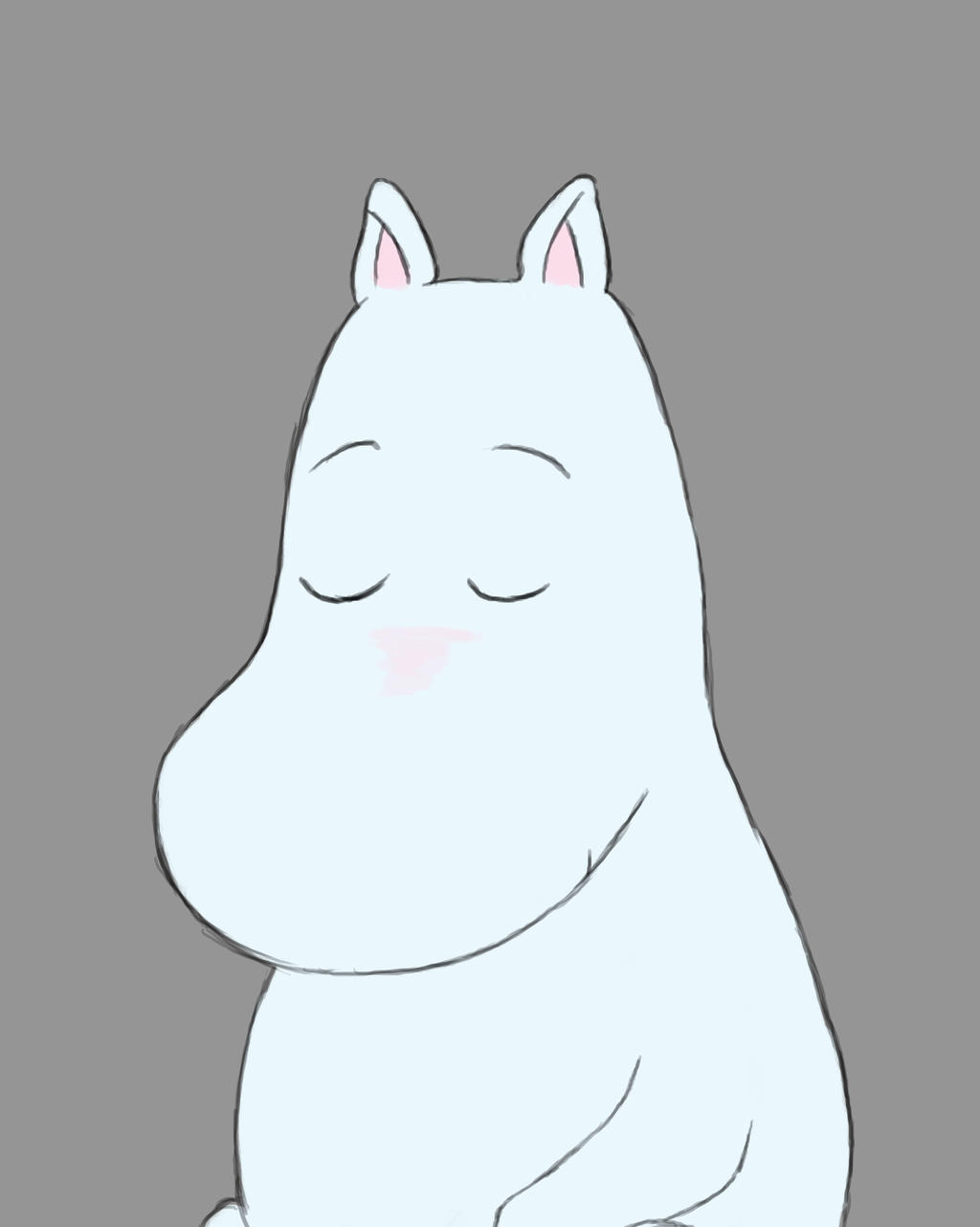 Moomin Daily sketch #666 by GothicVampireFreak