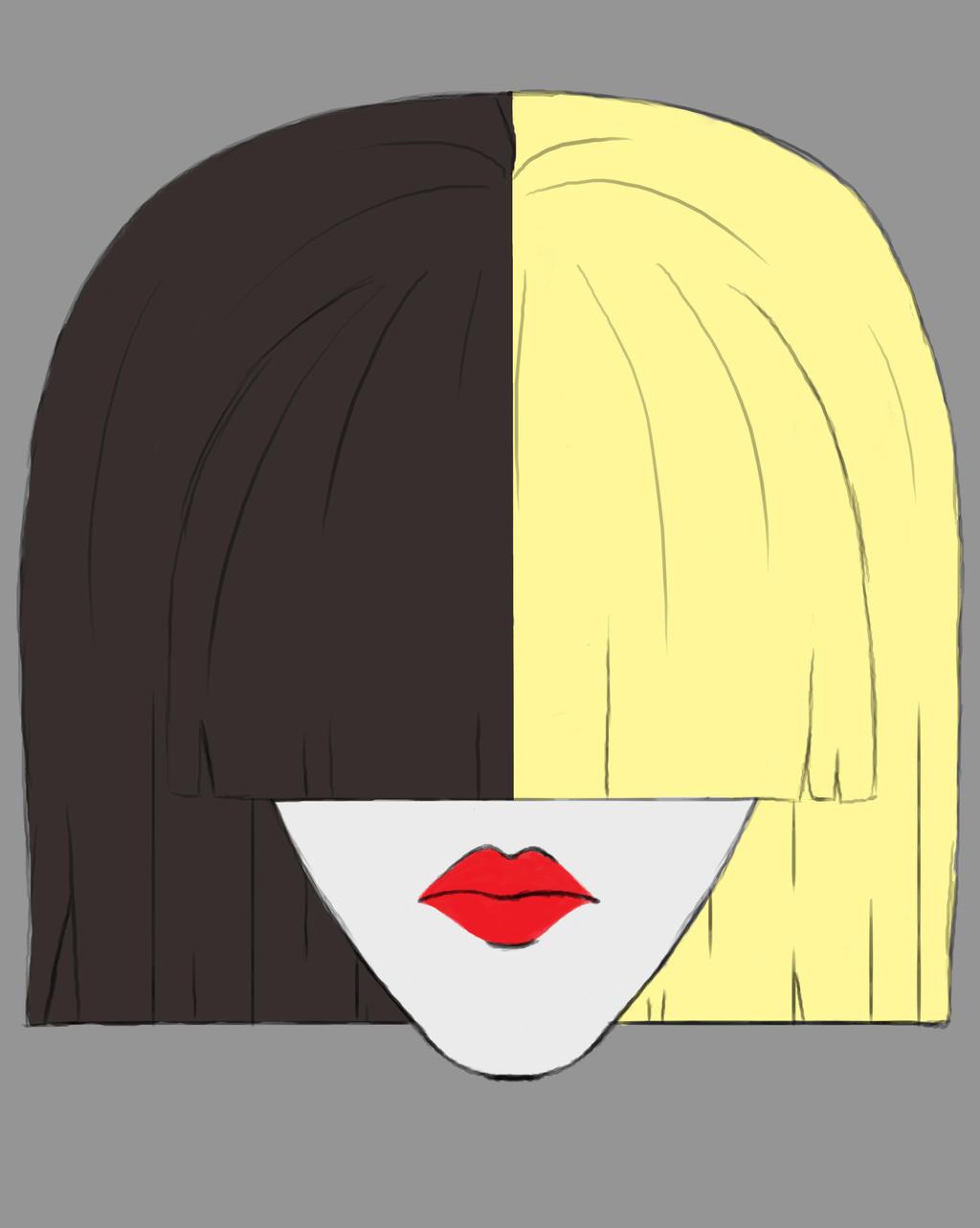 Sia Daily sketch #672 by GothicVampireFreak