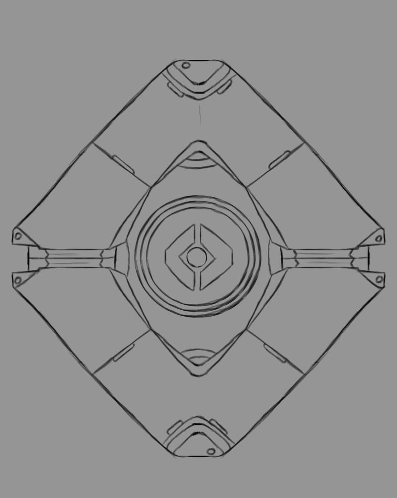 Ghost Daily sketch #673 by GothicVampireFreak