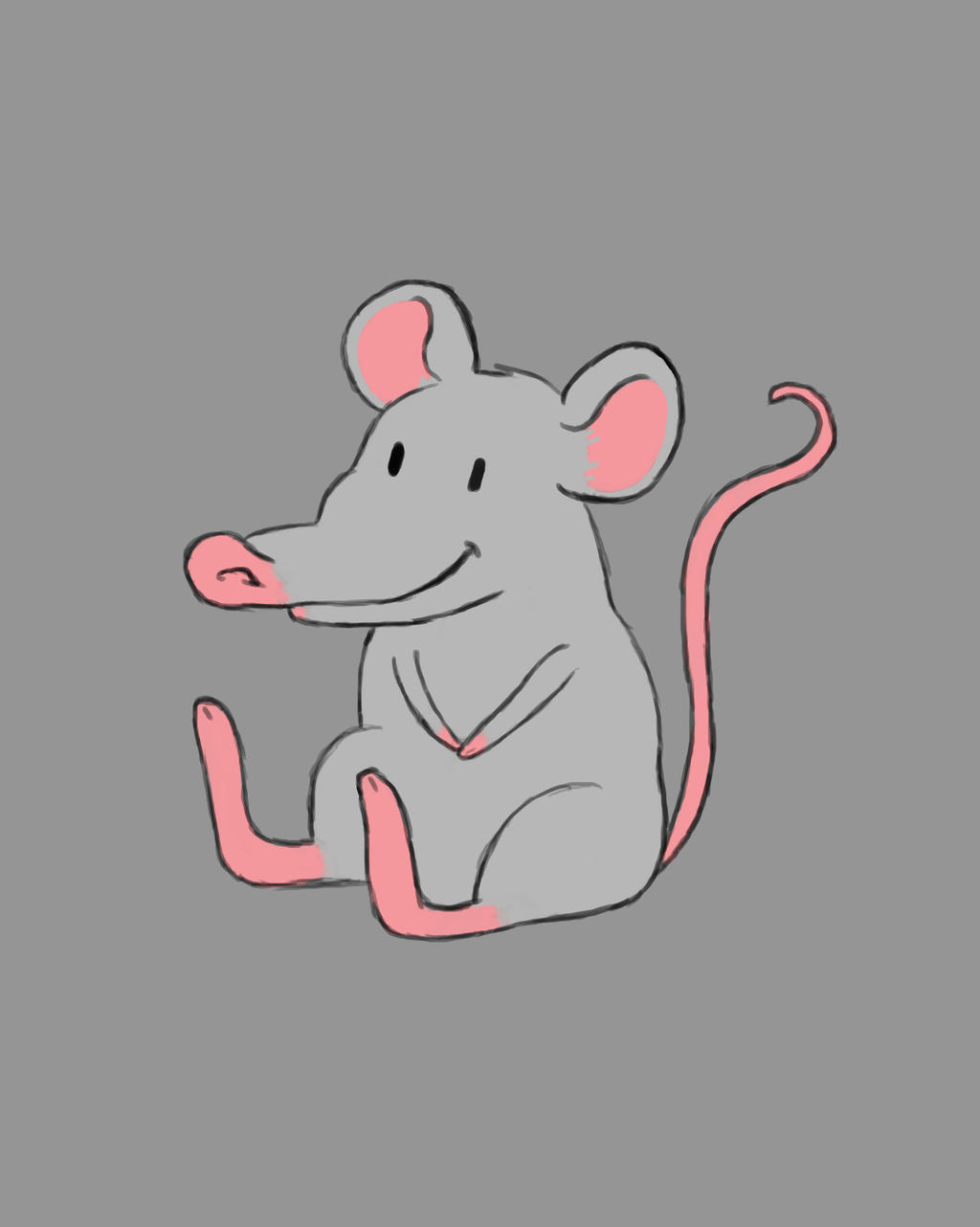 Mousey Daily sketch #689 by GothicVampireFreak