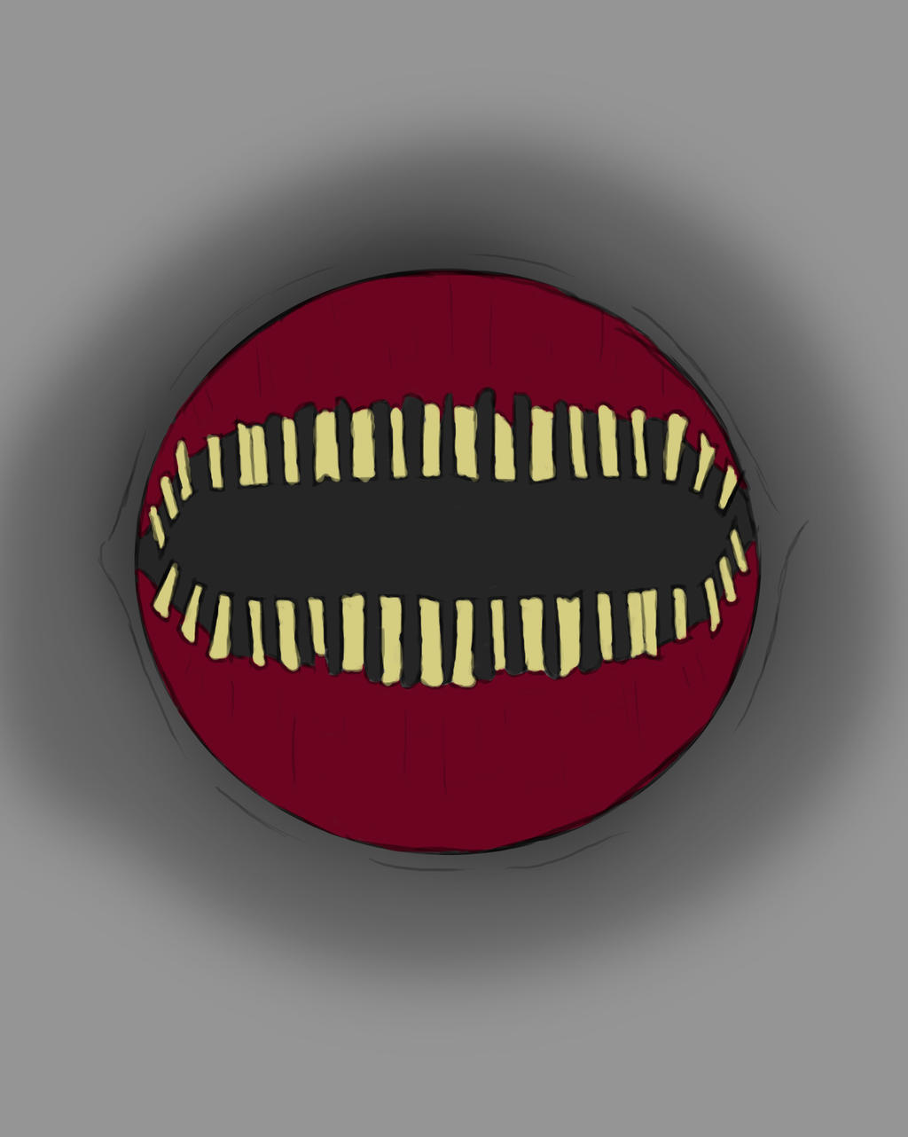Worm Mouth Daily sketch #707 by GothicVampireFreak