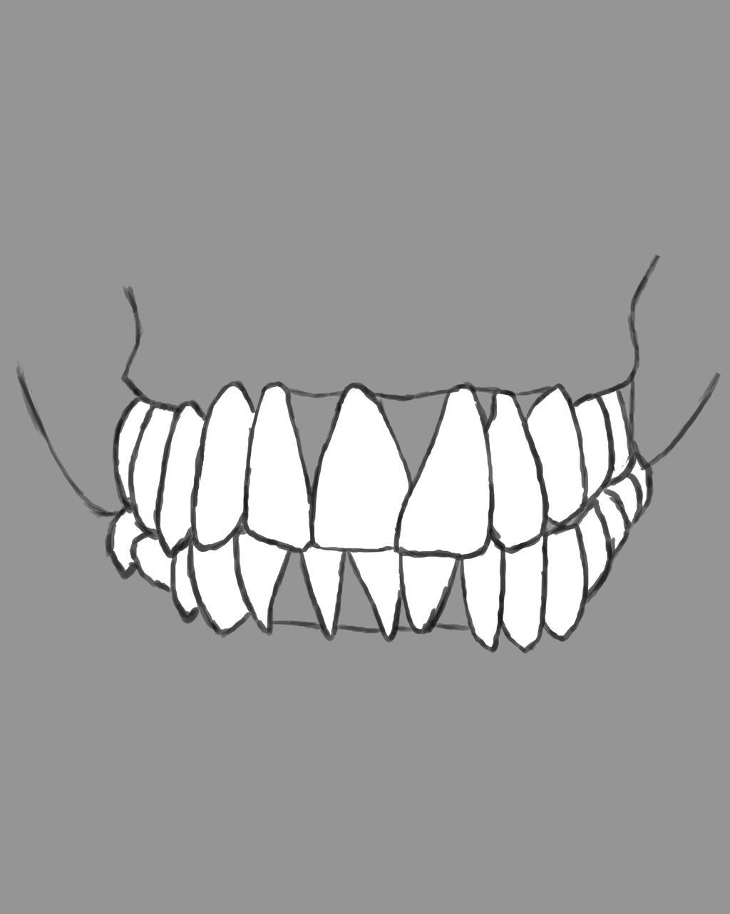 Skull Mouth Daily sketch #721 by GothicVampireFreak