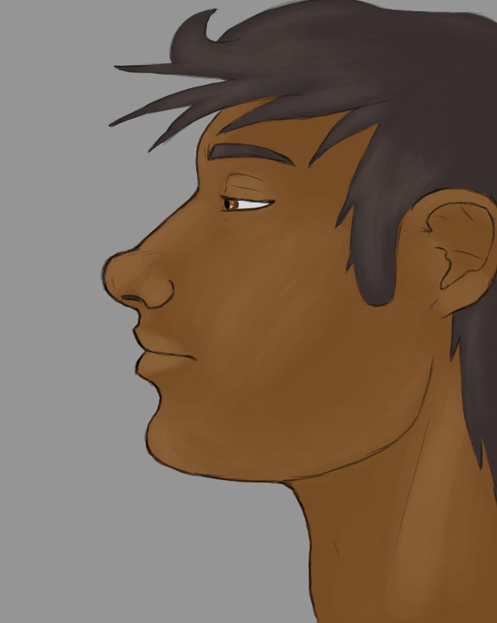 Bored Boy Daily sketch #733 by GothicVampireFreak
