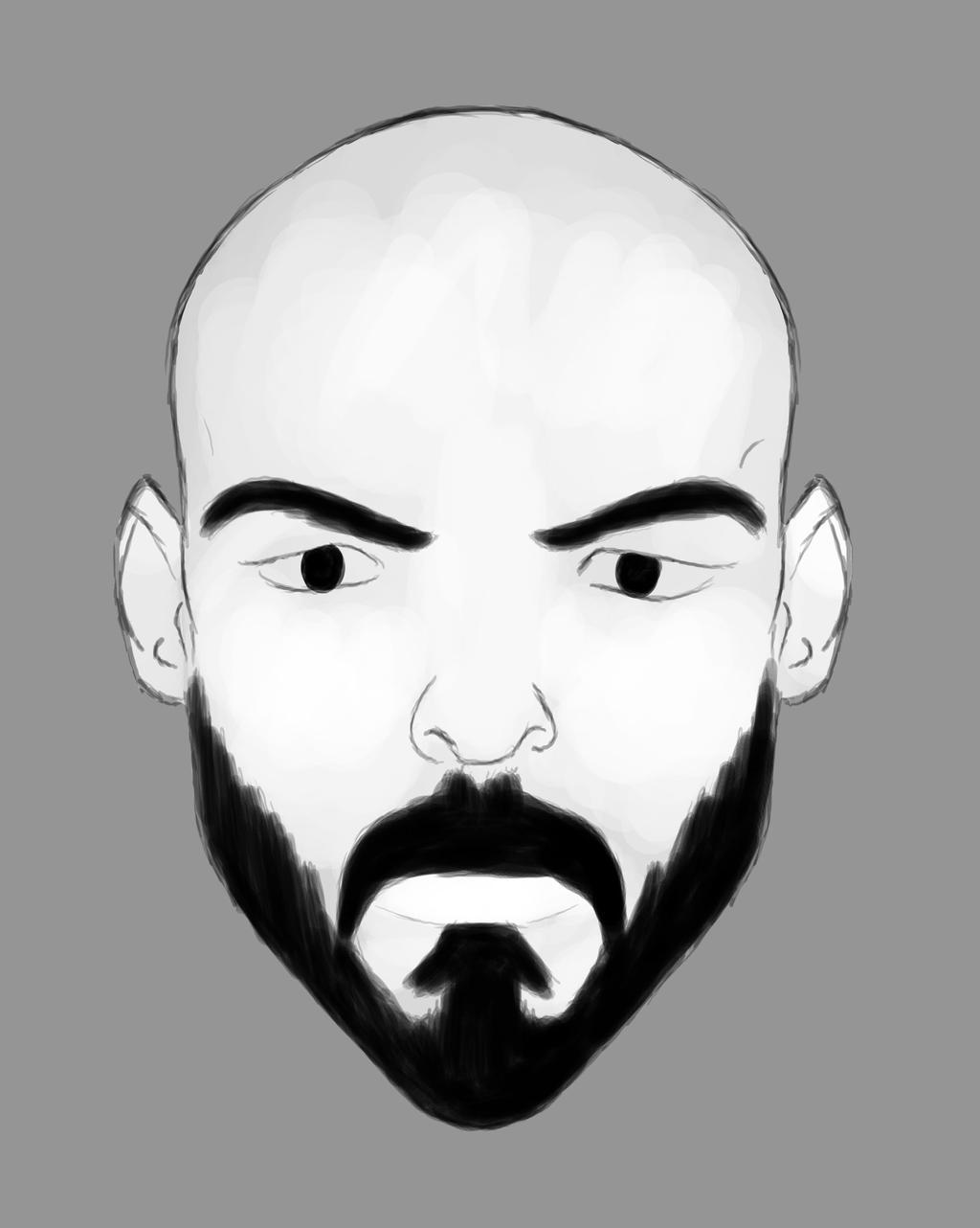 Aaron Daily sketch #750 by GothicVampireFreak