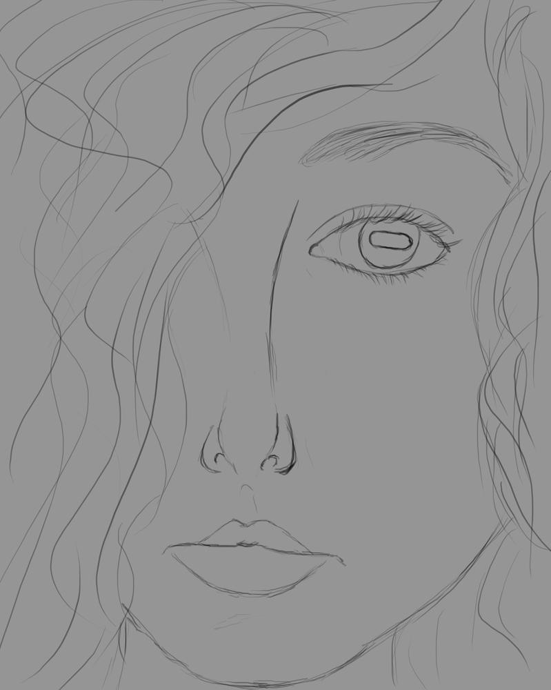 Quick Sketch Daily sketch #799 by GothicVampireFreak