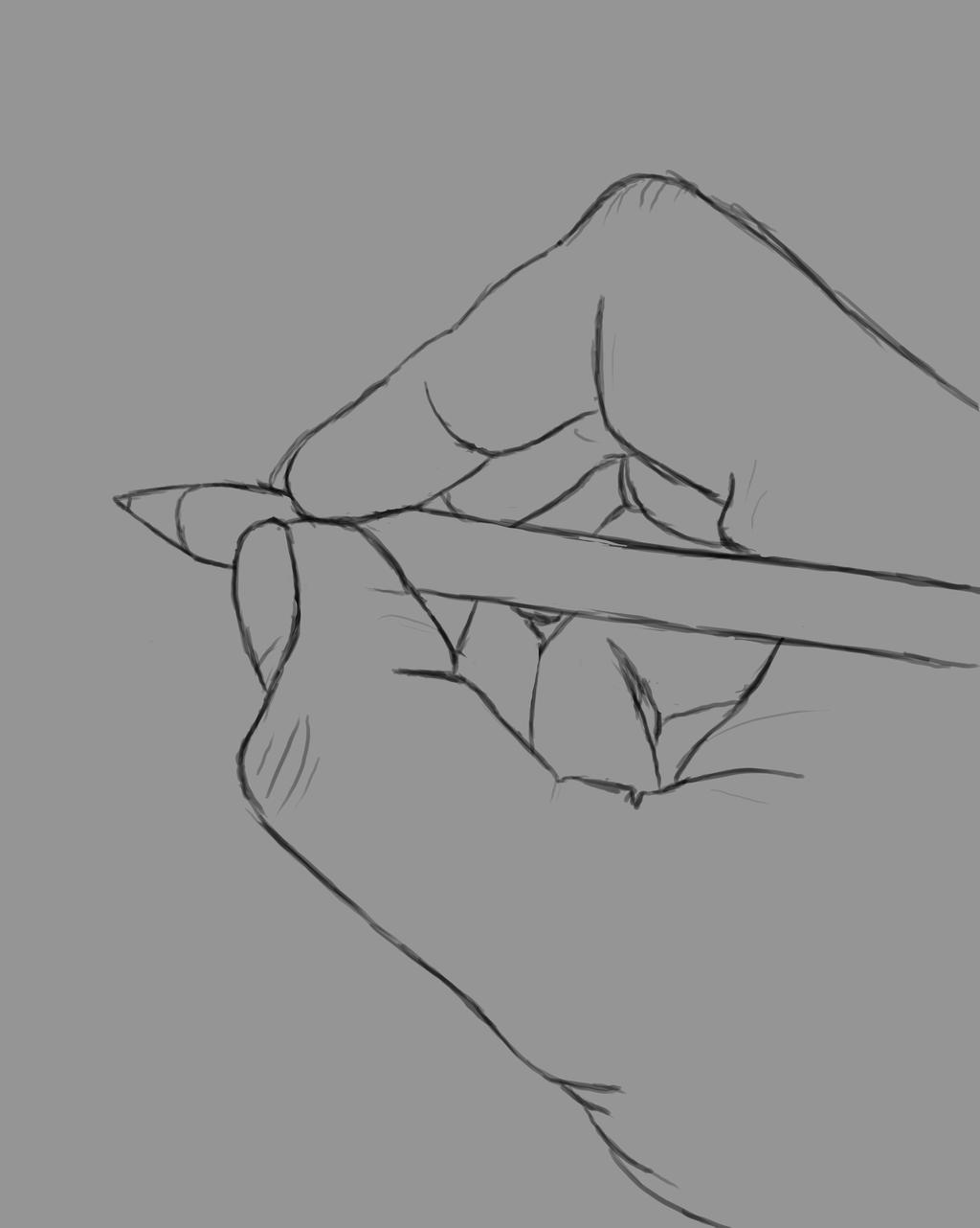 Write Daily sketch #809 by GothicVampireFreak