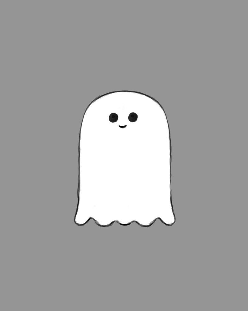 Small Ghost Daily sketch #831 by GothicVampireFreak