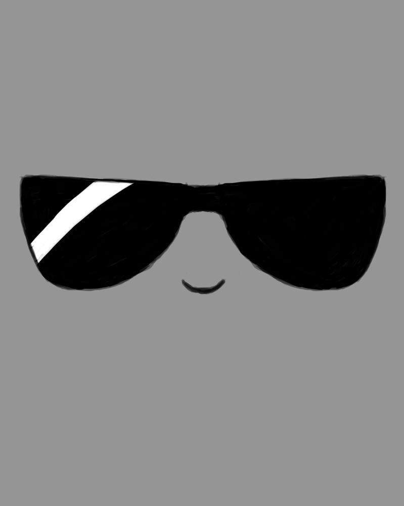 Sunglasses Daily sketch #832 by GothicVampireFreak