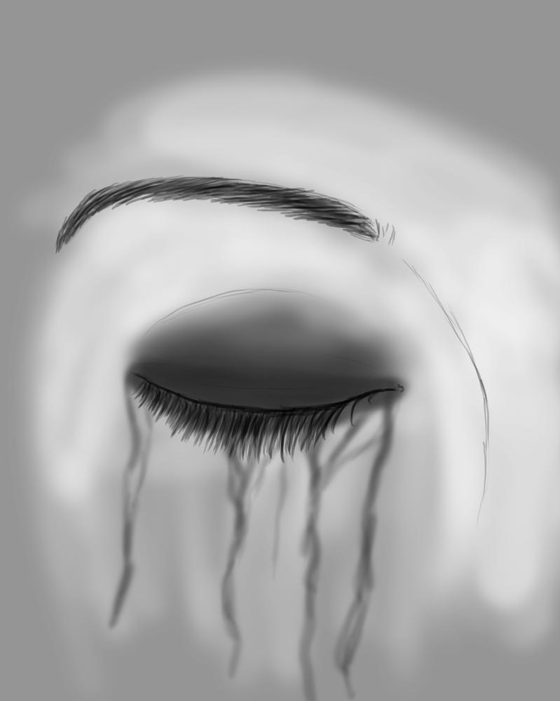 Dark Smear Daily sketch #836 by GothicVampireFreak