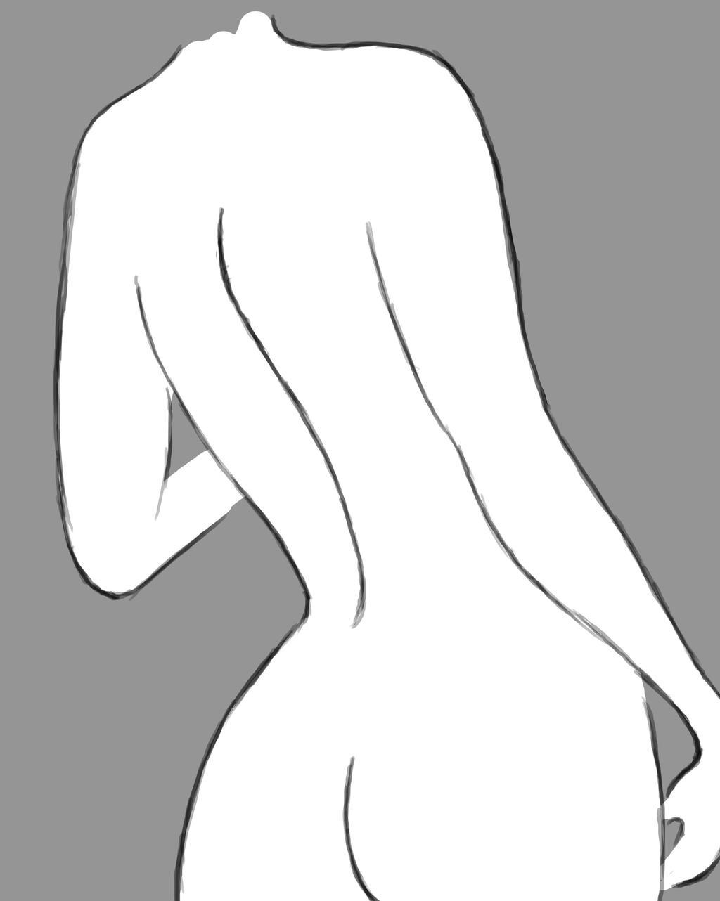 Feminine Daily sketch #853 by GothicVampireFreak