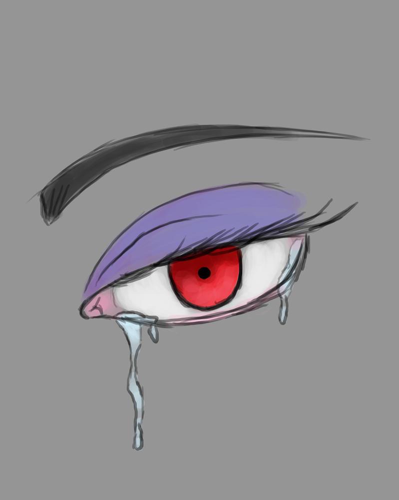 Angry Sad Daily sketch #871 by GothicVampireFreak