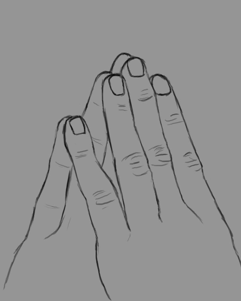 Think Daily sketch #876 by GothicVampireFreak