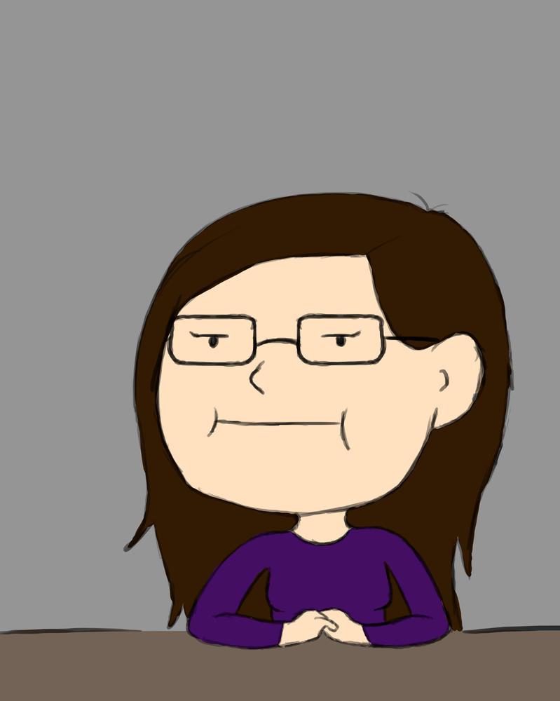 Annoyed Me Daily sketch #879 by GothicVampireFreak