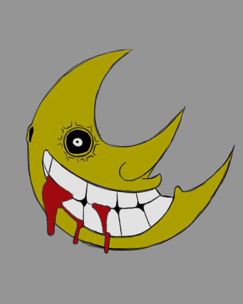 Moon Daily sketch #894 by GothicVampireFreak