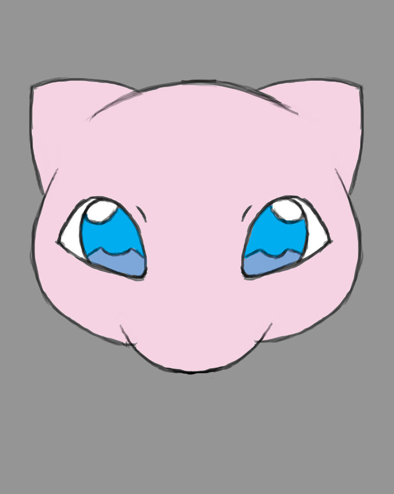 Mew Daily sketch #992 by GothicVampireFreak