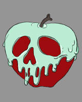 Poisoned Apple Daily sketch #1095 by GothicVampireFreak