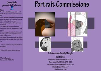 Commission Sheet 2019 by GothicVampireFreak