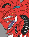 Slifer The Sky Dragon Daily sketch #1385