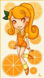 Citrus: Orange by girlunderwater
