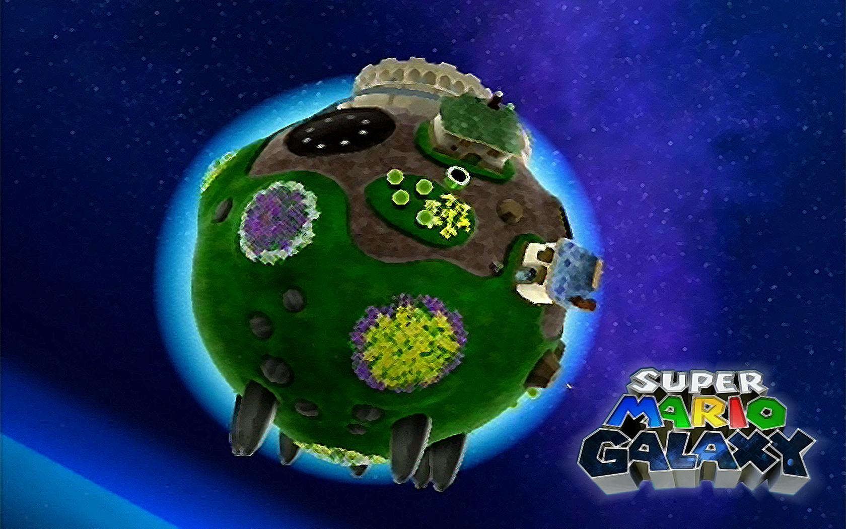 Super Mario Galaxy Wallpapers: Super Mario Galaxy Wallpaper By OneginIII On DeviantArt