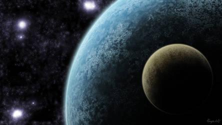 Space Wallpaper by OneginIII