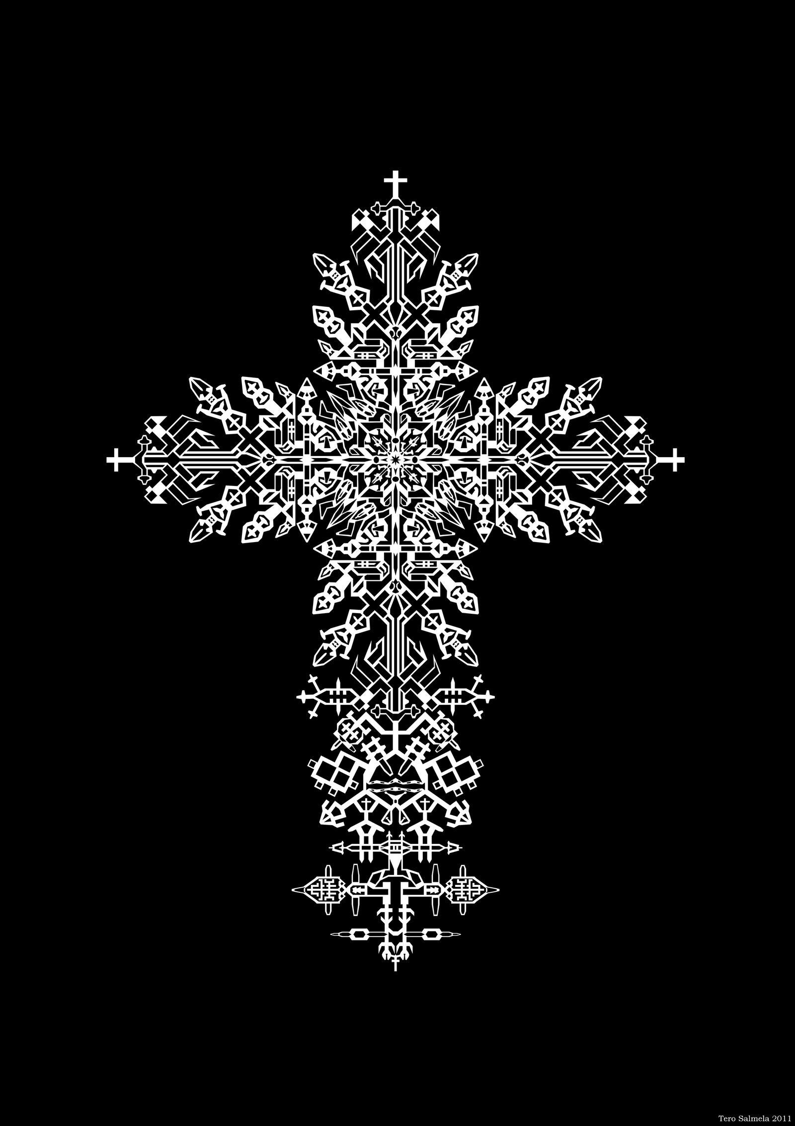 Royal Cross by OneginIII