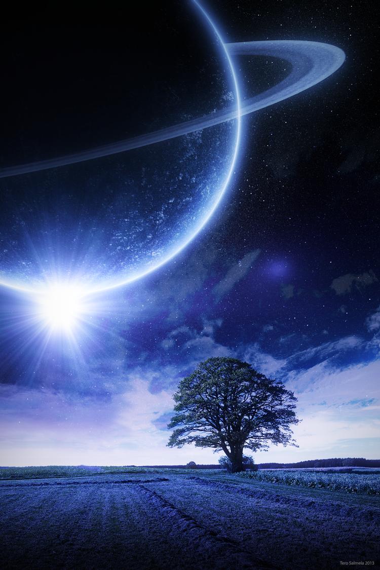Dream in space by OneginIII