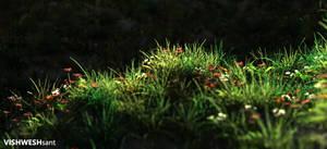 Green III by Vishw