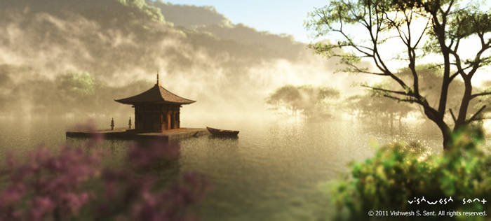 Floating Temple...