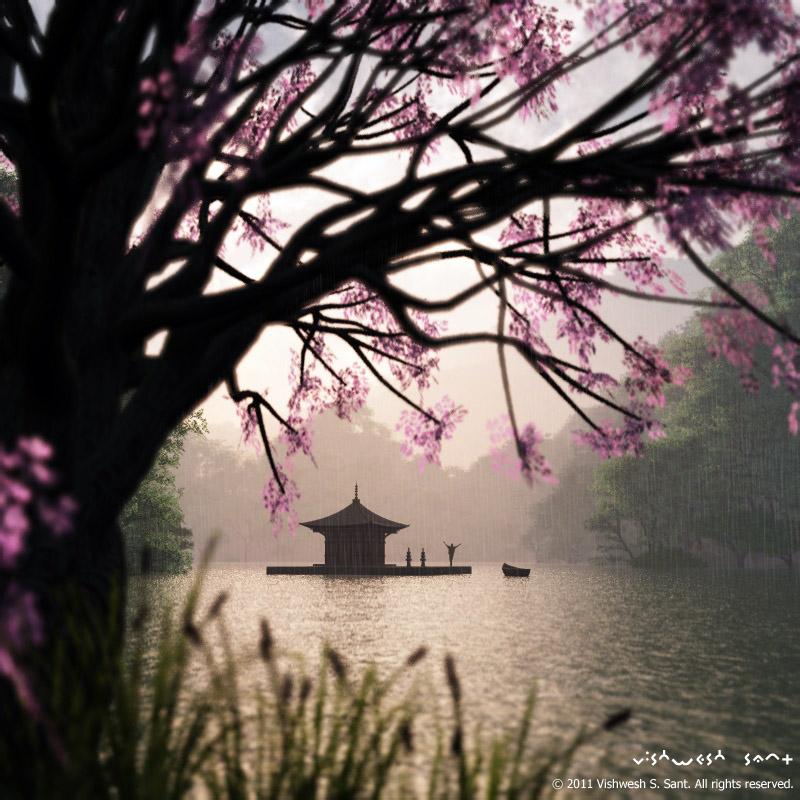 Enjoy the Rain... by Vishw