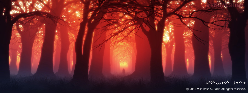 Solitude II by Vishw