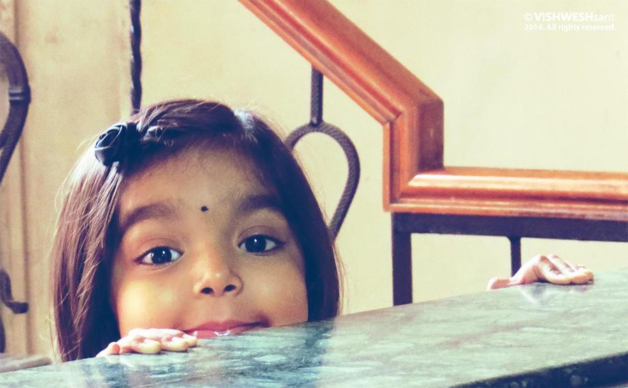 Lil' Radha by Vishw