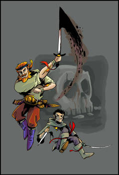 Flashing Swords