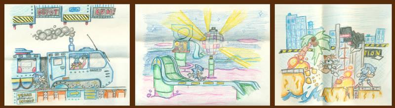 Sonic art 1997 by gsilverfish