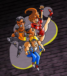 Streets of Rage - It's Fun to Hurt People