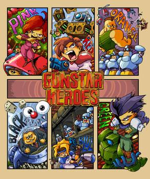 Gunstar Heroes Six Fanarts
