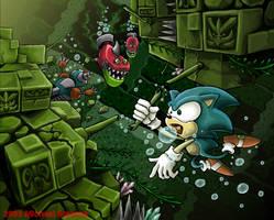 Sonic Fix: Labyrinth Zone by gsilverfish
