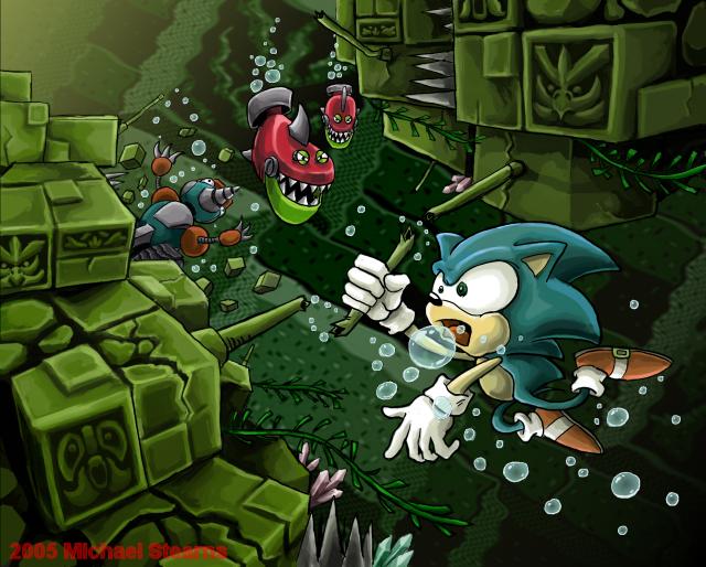 Sonic_Fix__Labyrinth_Zone_by_gsilverfish