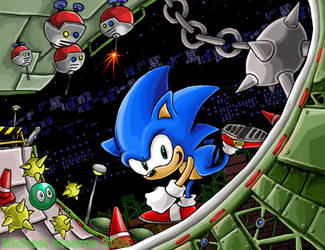 Sonic Fix: Star Light Zone by gsilverfish