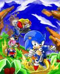 Sonic CD Riders