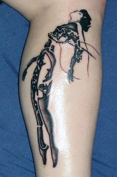 Ghost In The Shell tattoo