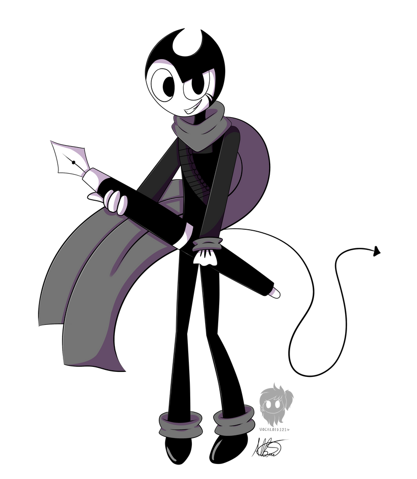.INK BENDY-Fullbody By Vocaloid121 On DeviantArt