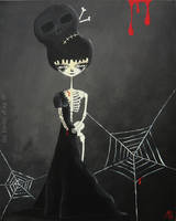 Halloween's Queen by lestoilesdaz