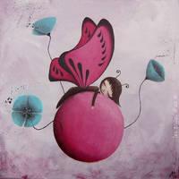 Butterfly's dream by lestoilesdaz