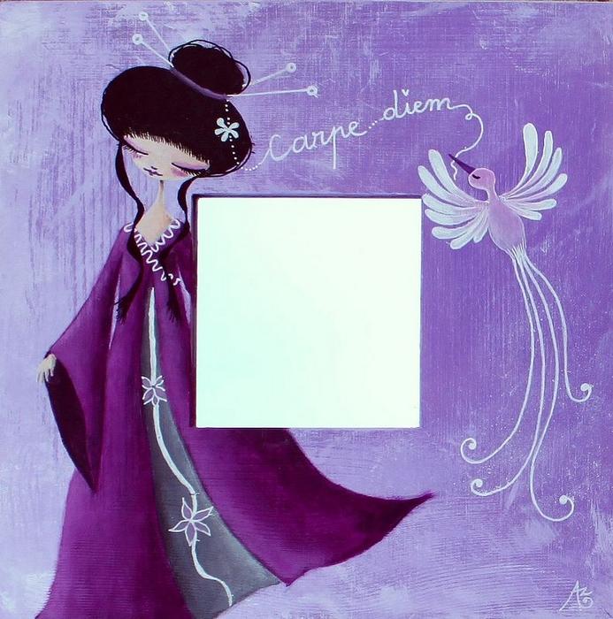 Miroir japonisant by lestoilesdaz on deviantart for Miroir wallpaper