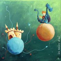 Le petit dragon a pois by lestoilesdaz